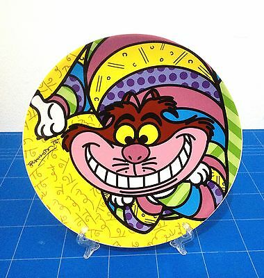 Disney By Britto - Piatto In Ceramica - Stregatto / Cheshire Cat