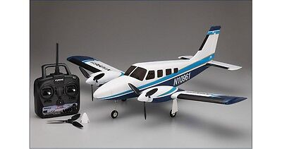 Kyosho Piper Pa34 Ve29 Twin RC plane rtf complete