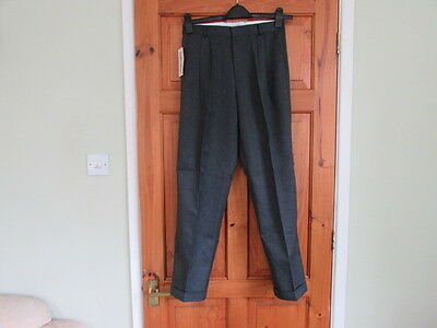 new northern soul / 50s twin pleated turn up trousers W 30 X L 29