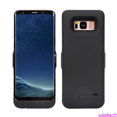 5000/5500mAh Battery Case Power Bank Backup Charging Cover for Samsung S8 + Plus