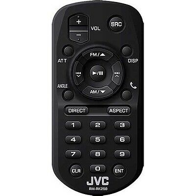 JVC RM-RK258 Infrared Remote Control Suitable for many JVC CAR RADIO MODELS