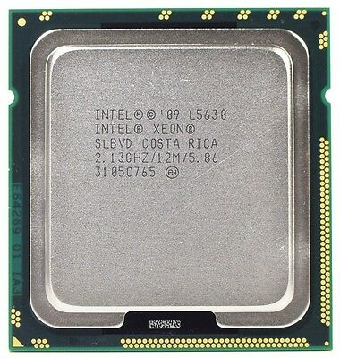 Intel Xeon L5630 2.13ghz 4 core + HT
