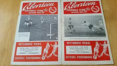 Scottish Programmes 1950's and 1960's