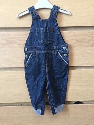 Boys Ted Baker Dungarees Size 9-12m