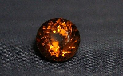 1.84ct Honey Mali Garnet - Precision Cut Portuguese Round