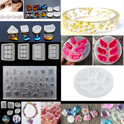 DIY Silicone Mold DIY Resin Jewelry Pendant Necklace Making Mold Tools