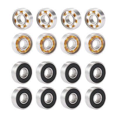 8x High Speed 608 Hybrid Ceramic Outer Center Bearing for Fidget Finger Spinner