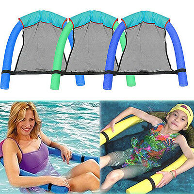 Pool Floating Chair Swimming Pool Seats Floating Bed Chair Pool Chair Mesh Cloth