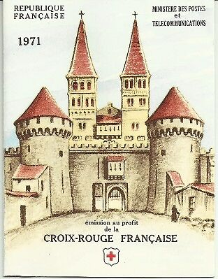 France Red Cross booklet 1971