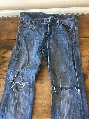 boys Ripped jeans H& M Size 12/13