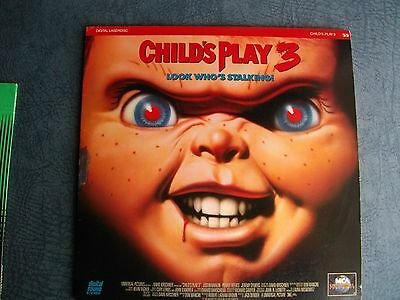 CHiLDS    PLAY -  3   >>>  LASERDiSC   >>>  GOOD    CONDiTiON   <<<