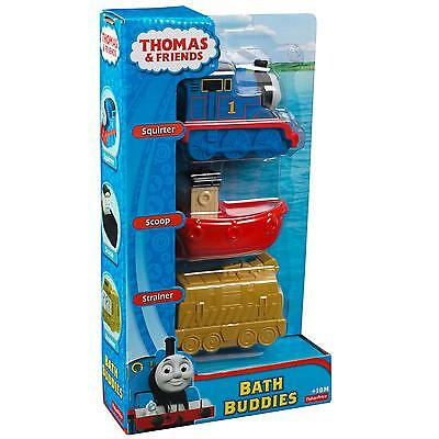 Fisher Price Thomas & Friends My First Bath Buddies Brand New In Box Y3061