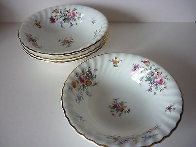4 x Minton Marlow Cereal Bowls 1st quality
