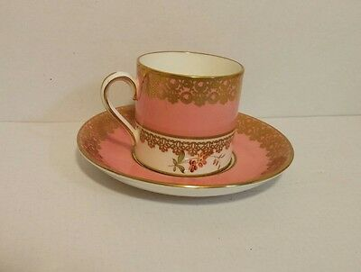 Beautiful gold designed Hammersley&Co bone china made in england tea cup/saucer