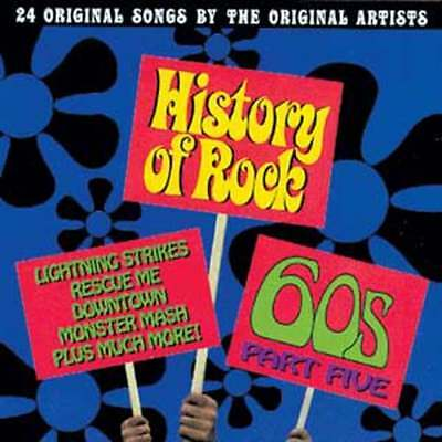 History of Rock: The 60's, Part 5 NEW CD