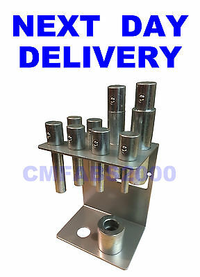 11 Piece Press Pressing Pin Set for 20T 12T 10T Hydraulic Press Compare to YKPP8