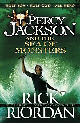 Percy Jackson and the Sea of Monsters Book 2 Paperback