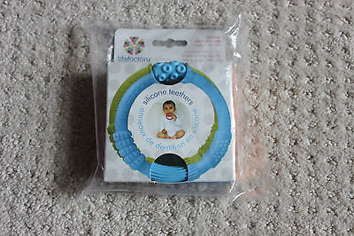 Lifefactory silicone teether rings for baby 2 pack