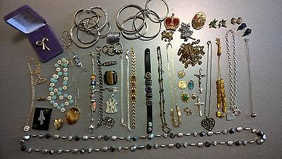 Collection of mixed costume jewellery - all preloved good used condition