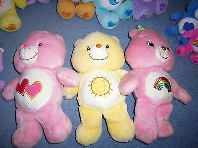 Vintage Care Bear Glow In The Dark Collection