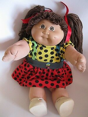 Cabbage Patch Kid Dimple Girl Doll Shoes Polka Dot Outfit