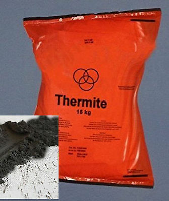 3 kg Original Thermit Nanothermit Termit Thermite cutting and welding