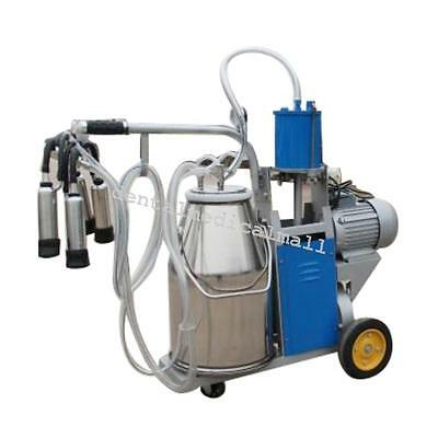 Electric Piston Milking Machine for Cows Single Tank+ EXTRAS - Factory Direct