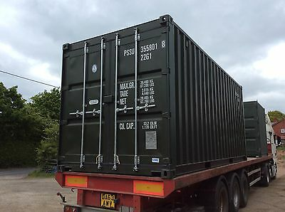 20 ft NEW shipping container no vat