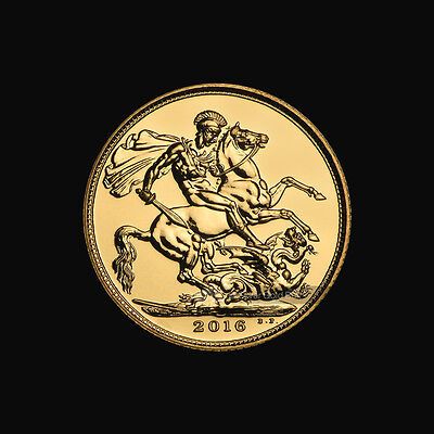 2016 Royal Mint Sovereign Gold Coin