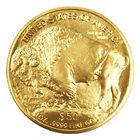 1 oz Random Year Buffalo Gold Coin