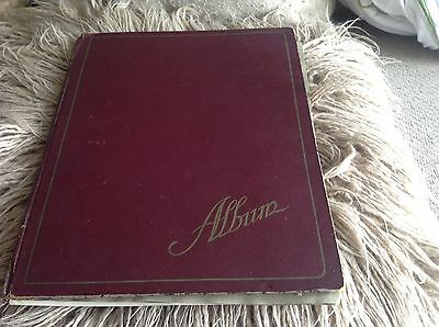 Vintage Photo Album (Surnames Cosham, Glover, DeDouza)
