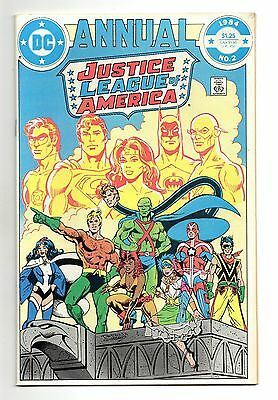 Justice League of America Annual Vol 1 No 2 1984 (VFN+) 1st app of Vibe