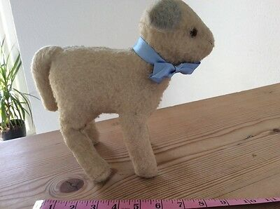 vintage stuffed toy lamb