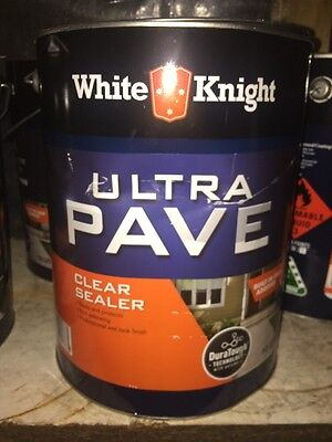 White Knight Ultra Pave Clear Sealer 10 L