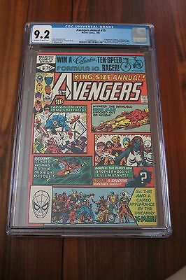 Avengers Annual #10 - CGC 9.2 NM- OW/White Pgs - 1981 1st Appearance Rogue