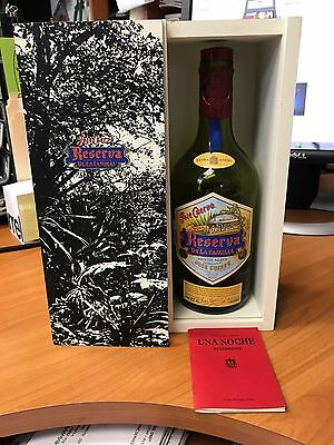 Jose Cuervo Tequila Reserva De Familia Box 2015 empty bottle with box