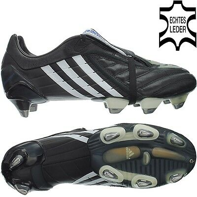 Adidas Predator Powerswerve XTRX SG black Kangoroo Leather Men's Fottball Boots