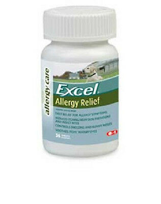 8In1 Excel Allergy Relief 36 Tab Dog Antihistamine Itching Free Ship To The Usa