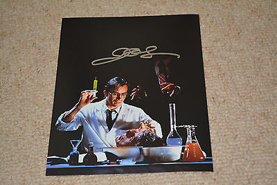 JEFFREY COMBS signed Autogramm 20x25 cm In Person  RE ANIMATOR