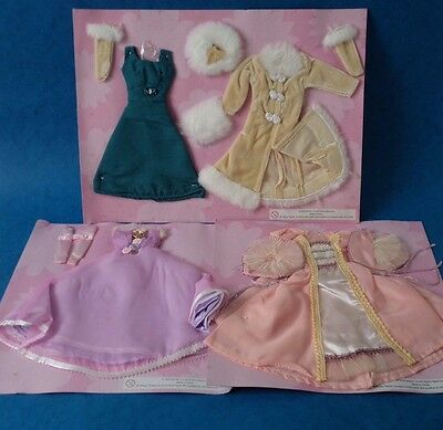 Doll Clothes - BARBIE OUTFITS x 3 - Austria Russia Italy - Unused