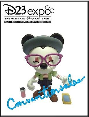 """Disney D23 Expo 2017 Hipster Minnie Vinylmation 9"""" Figure - Minnie Mouse"""