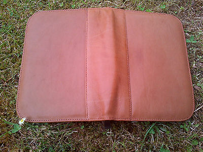 Aston (Tan) Leather 10 Fountain Pen Case -  Nice Wow Looook