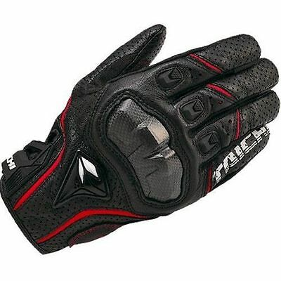 Mens Motorcycle RS Taichi SIZE L Red RST390 Perforated leather Mesh Gloves