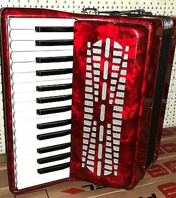 Chanson Accordion Brand new with hard case