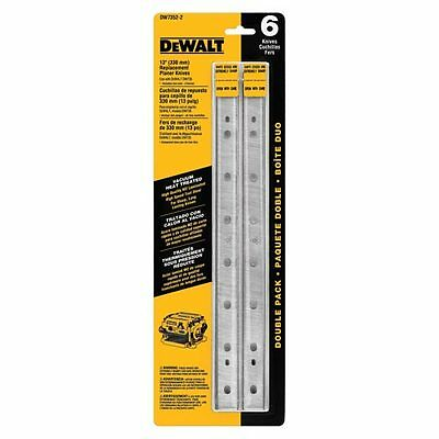 DEWALT DW7352-2 13-Inch Heat Treated Double Sided Replacment Planer Knives