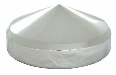 """horn cover 5-1/2"""" to 6"""" bell size pointed cone chrome Peterbilt Kenworth EACH"""
