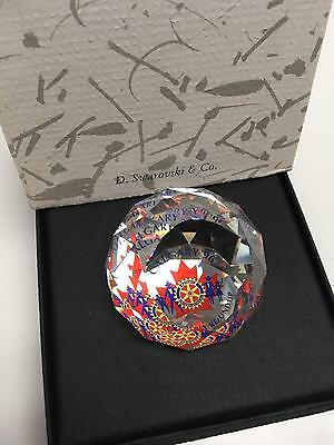 SWAROVSKI Paperweight Rotary International Convention Race to INDY 1998 w Box