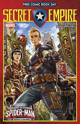 Secret Empire Fcbd 2017 W/ Peter Parker Spectacular Spider-Man