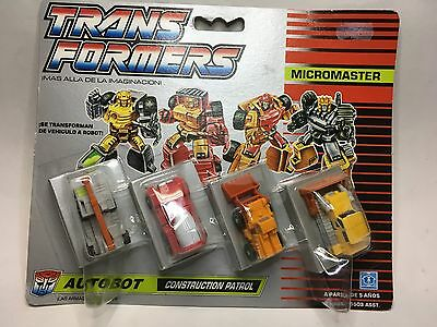 TRANSFORMERS Micromaster - Autobot - CONSTRUCTION PATROL  *** NEW**** SEALED