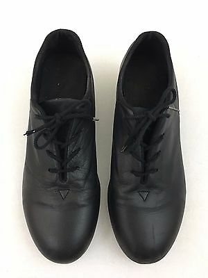 Bloch Shockwave Womens Tap Dancing Shoes Black Leather Size 8 1/2 M
